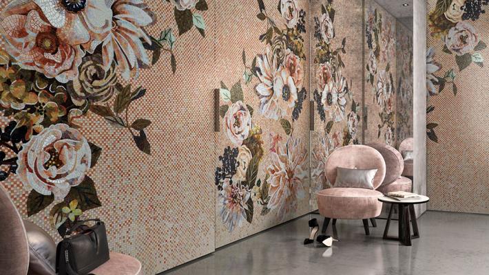 best of 2018 - SICIS Mosaic Tile Mural - Interior Design Trends 2018 - home decor ideas - interior design ideas
