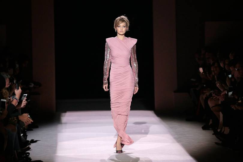 Pastel Summer Trend - Fashion Trends 2018 - Parade with Panache This Summer - Getty Images - gigi hadid - tom ford ss18