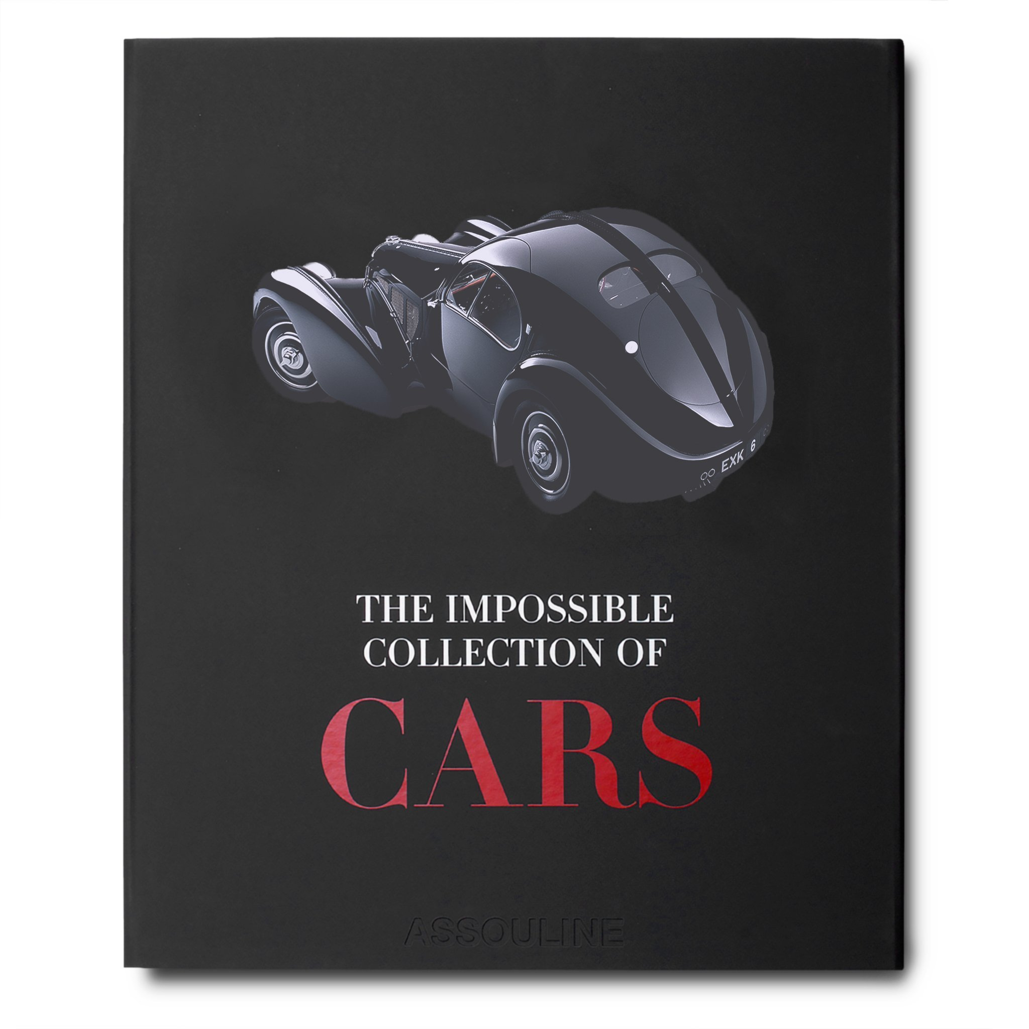 Father's Day Gifts - Gifts for Men - Gifts for Him - Gifts for Dads - Assouline Books The Impossible Collection of Cars - books for car lovers - luxury table top books