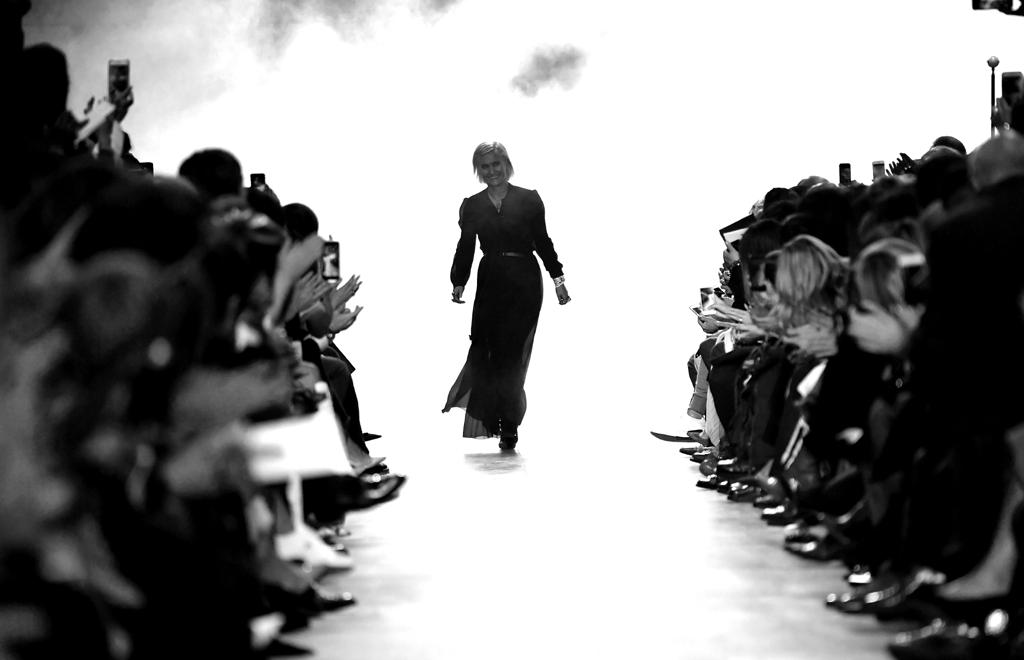Maria Grazia Chiuri, Paris Fashion Week Womenswear Fall / Winter 2017/2018, Photo by Pascal Le Segretain / Getty Images