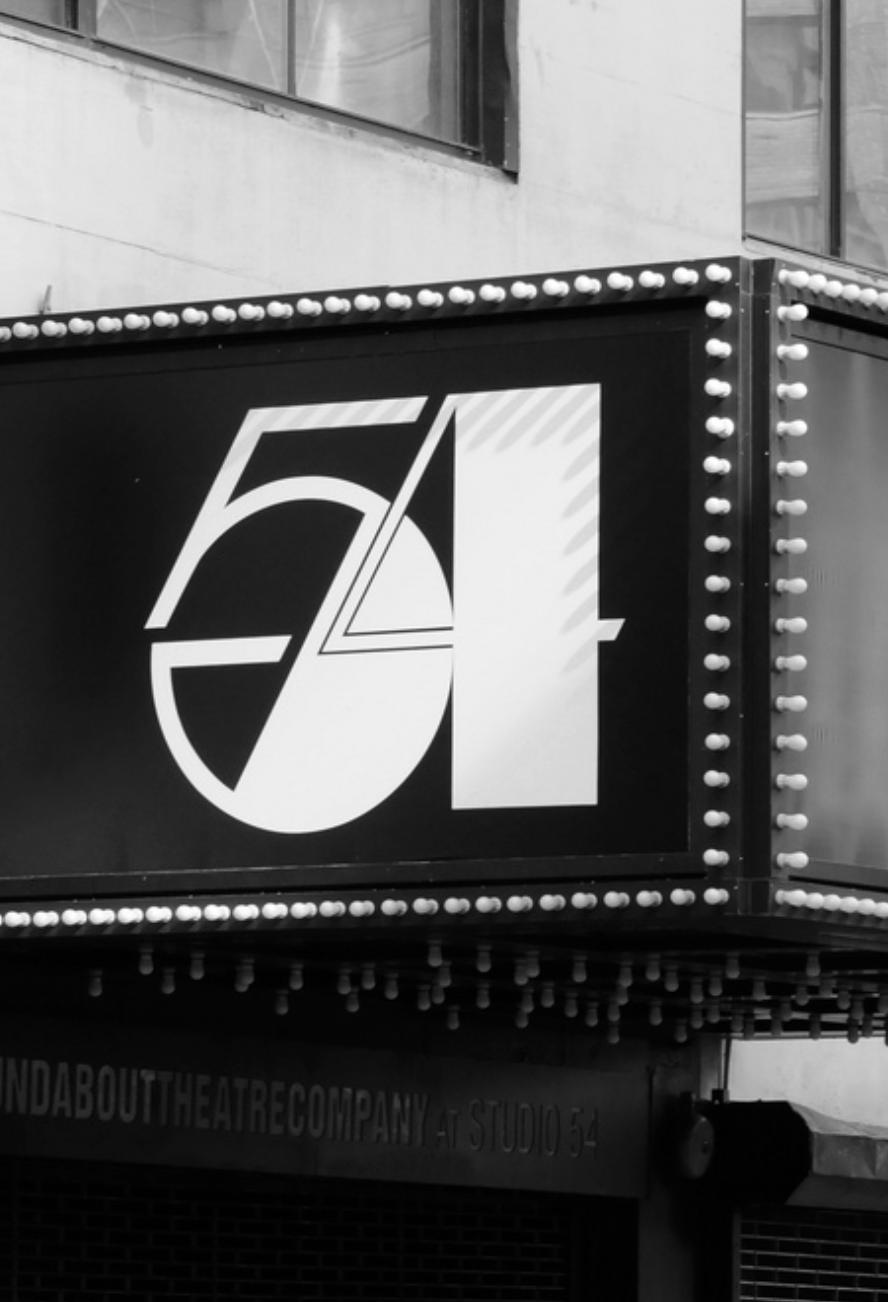 Studio 54, Studio 54 Sign, Broadway Tour, Broadway, New York Icons, Design Icons, Iconic Design, Iconic Designs