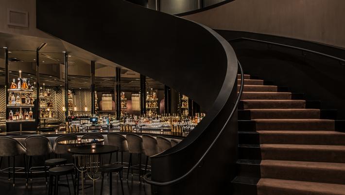 BLVD Chicago Staircase - Top restaurants in chicago - best restaurants in chicago - top restaurant designers - best restaurant designers - studio k - karen herold
