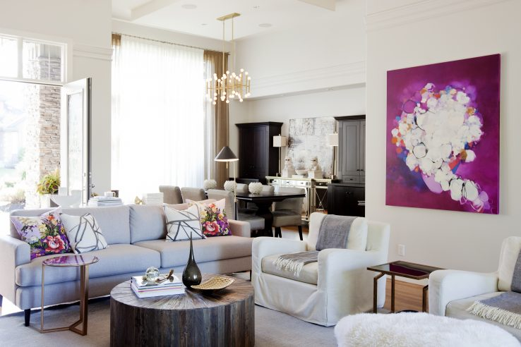 interior design inspiration, interior design tips, ultra-violet interior
