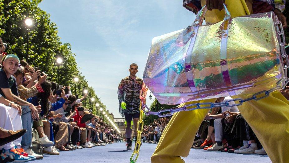 Virgil Abloh, Louis Vuitton, Off-White, Paris Men's Fashion Week, Louis Vuitton creative director, Paris Men's Fashion Week, Palais Royale,