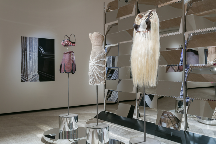 Azzedine Alaïa Exhibition London Design Museum - Photo by Mark Blower - top fashion designers - haute couture fashion designers