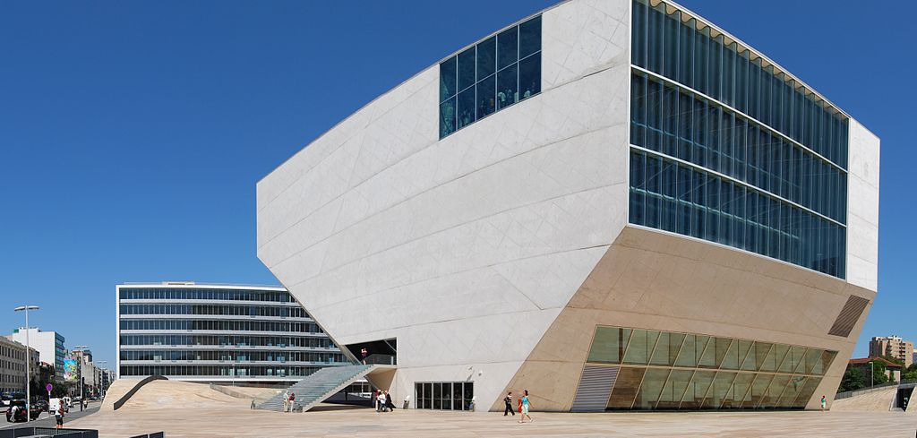 Casa de Musica - Design Lovers Guide to Portugal - Things to Do In Portugal for Architecture, Art & Design Lovers - the music house porto - things to do in porto - most beautiful places in porto - most beautiful buildings in portugal