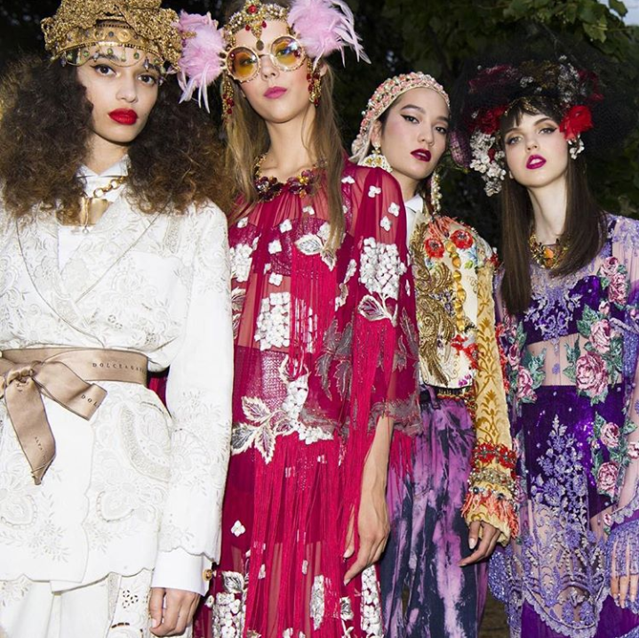 Dolce and Gabbana Alta Moda is a journey into Italian Beauty where the artistry of the most skilled craftsmanship is brought to life - via @dolcegabbana