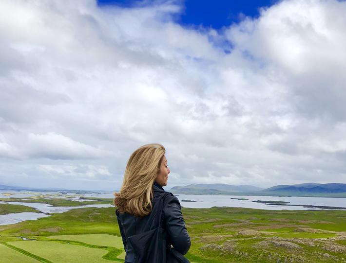 Edie Rodriguez in Iceland on Ponant Cruises newest ship Le Lapérouse - luxury travel - luxury expedition travel - luxury cruises - women empowering women - women empowerment - luxury travel executives - women in luxury