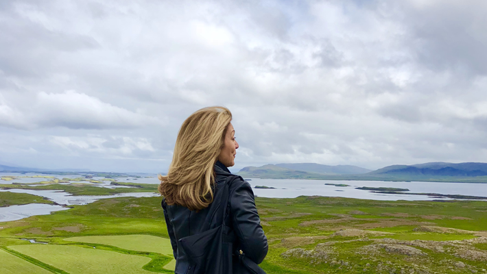 Edie Rodriguez in Iceland on Ponant Cruises newest ship Le Lapérouse - luxury travel - luxury expedition travel - luxury cruises - women empowering women - women empowerment - luxury travel executives - women in luxury - best of 2018