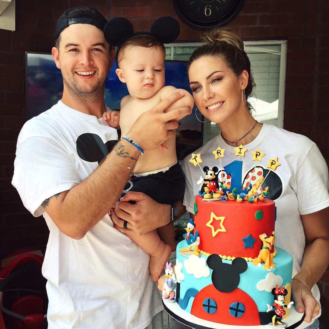 Katherine Webb and AJ McCarron with Baby Tripp - women empowerment - empowering women - own your beauty