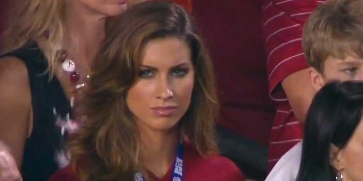 Katherine Webb BCS Bowl Championship Series national title game 2013 - ESPN Musbuerger Comments - Katherine webb-mccaron - women empowerment - women in sports