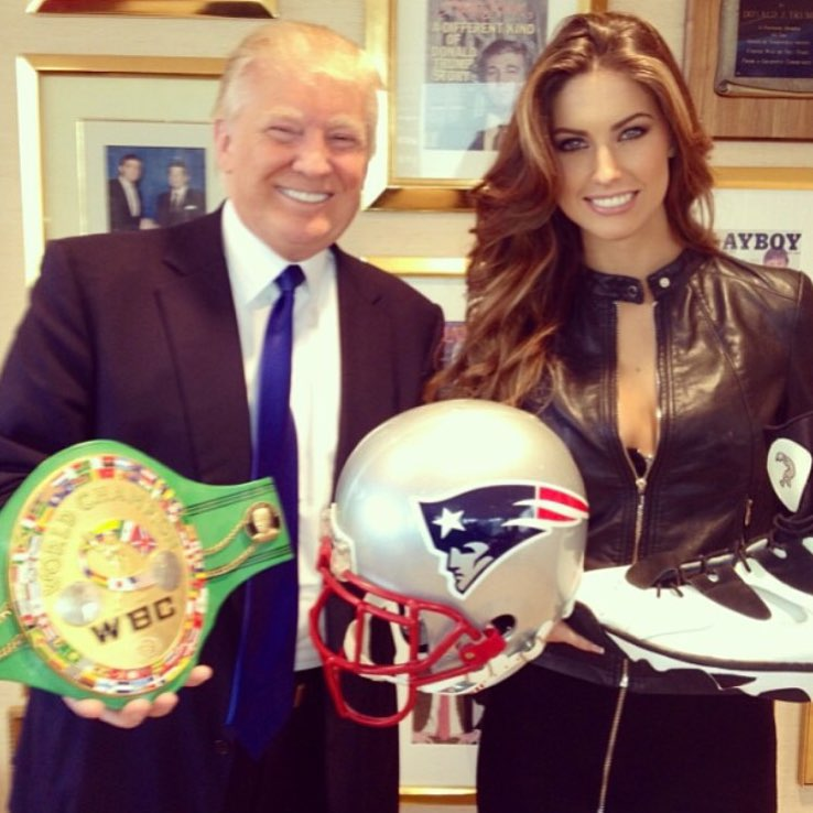 Katherine Webb with Donald Trump - miss alabama usa 2012 - katherine webb - mccarron - aj mccarons wife