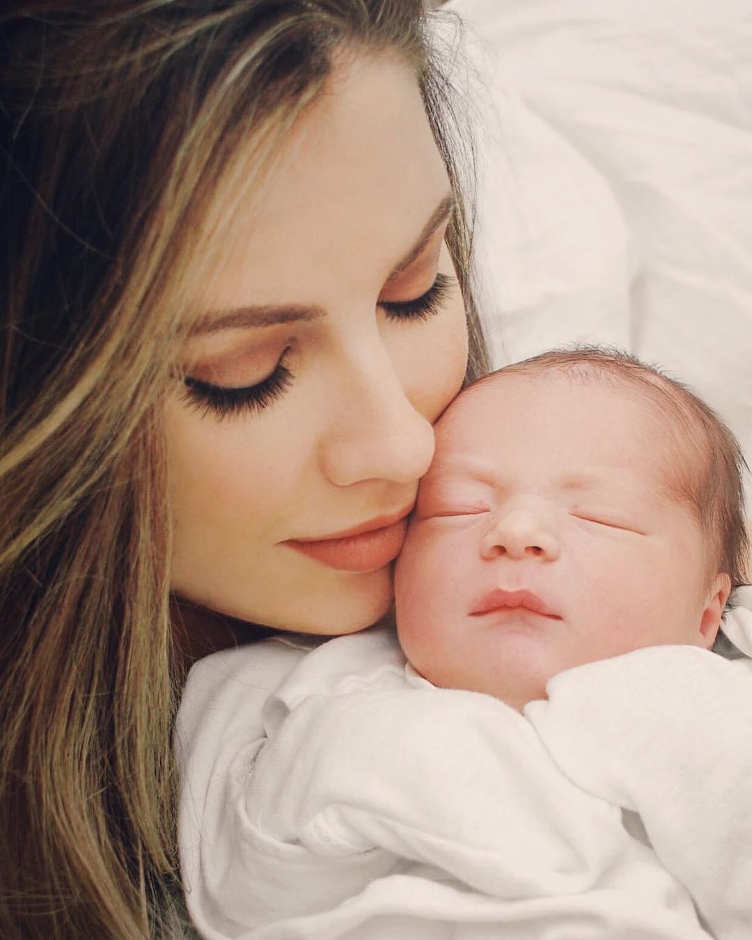 Katherine Webb and baby Tripp McCarron - aj maccarrons wife and son