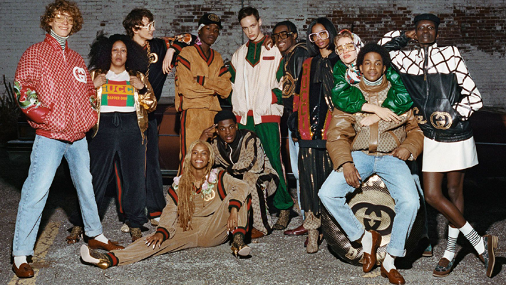 Luxury Streatwear - Dapper Dan's First Gucci Collection - Source Gucci