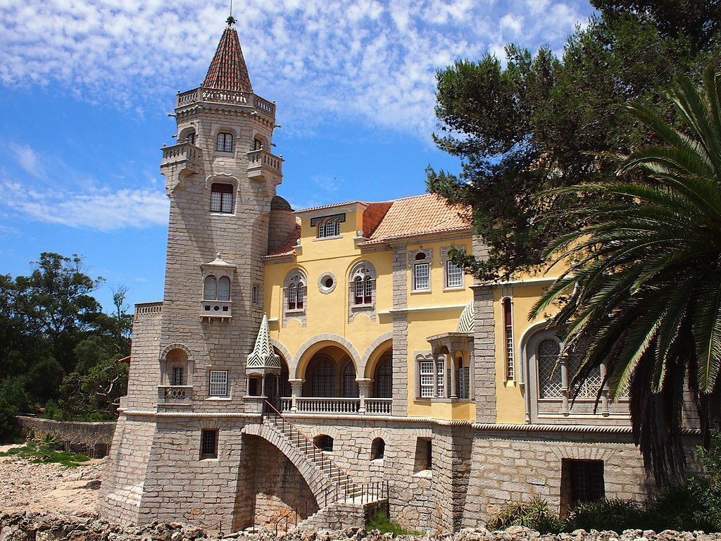 Museu Condes de Castro Guimarães, Cascais, Portugal - Design Lovers Guide to Portugal - Things to Do In Portugal for Architecture, Art & Design Lovers - best museums in cascais - best museums in portugal - beautiful buildings in portugal