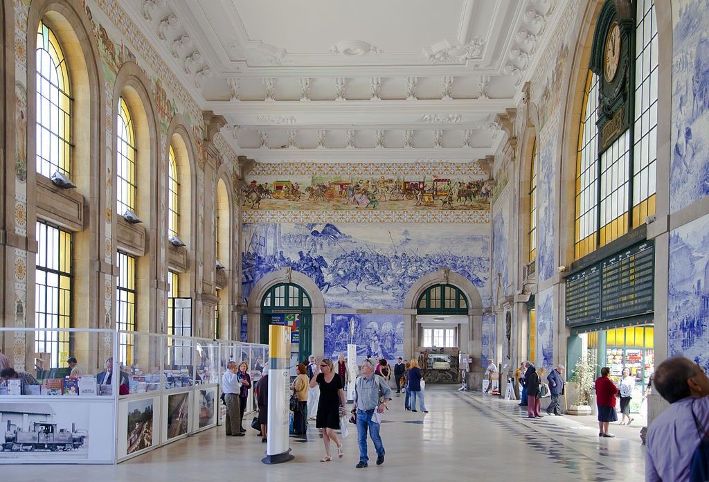 São Bento Train Stations Oporto Portugal - Design Lovers Guide to Portugal - Things to Do In Portugal for Architecture, Art & Design Lovers - porto railway station - most beautiful places in portugal - things to do in porto - beautiful buildings porto