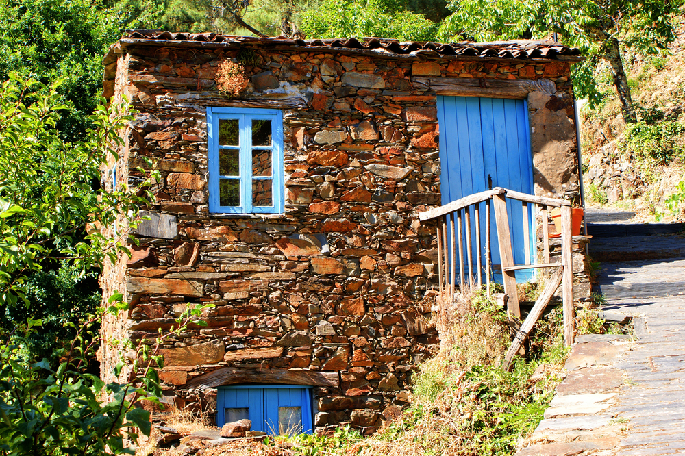 Schist - Small typical mountain village in Lousa - Design Lovers Guide to Portugal - Things to Do In Portugal for Architecture, Art & Design Lovers - most beautiful places in portugal