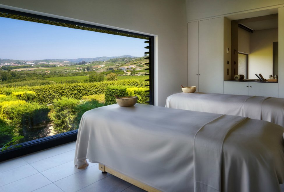 Spa at Six Senses Douro Valley Portugal - Design Lovers Guide to Portugal: Things to Do In Portugal for Architecture, Art & Design Lovers - best spas in portugal - most beautiful spas in the world - wine spas - spa wineries