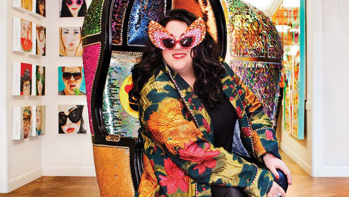 Bawdy, Beautiful, and Bad A**, Meet Ashley Longshore, The Pop Artist Everyone Can't Get Enough Of