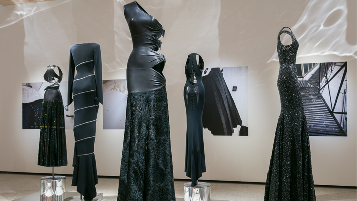 Azzedine Alaïa Exhibition London Design Museum - Photo by Mark Blower - top fashion designers - haute couture fashion designers