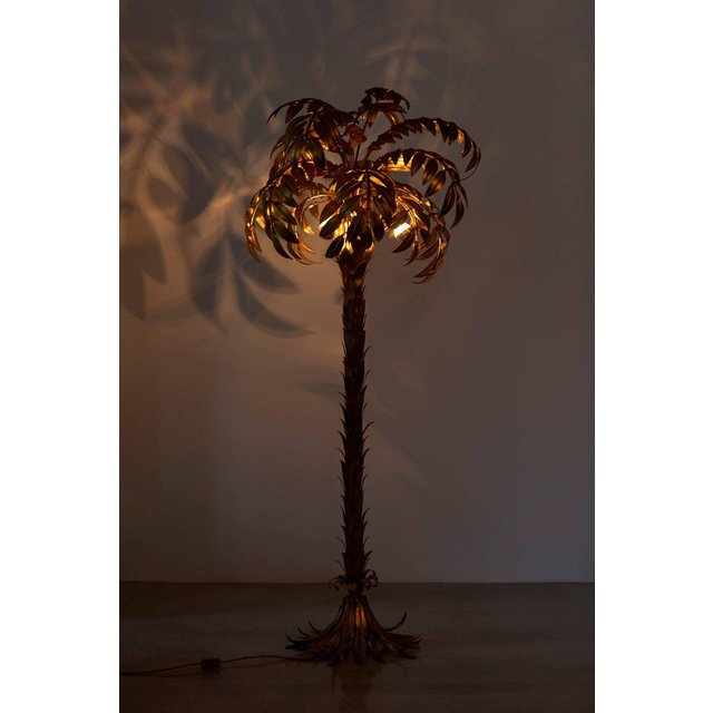 hans kogl palm tree floor lamp from decaso vintage lighting - vintage decor shops online