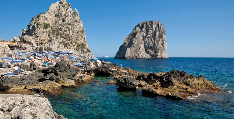 La Fontelina Capri, Fontelina, best beaches in Europe, best beaches in Italy, best beach clubs in Europe, best beach clubs in Italy, best beaches in Capri, best beach clubs in Capri, private beaches in Capri, private beach clubs in Capri