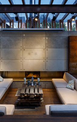 Lounge Zone by SVOYA Studio -Luxurious Backyard Retreats - outdoor cinemas - outdoor tvs - outdoor living room ideas - luxury outdoor living rooms - luxury furniture - outdoor design ideas