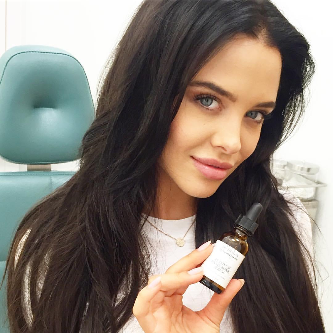 dr lara devgan Skin care secrets of supermodels_ Wilhemina model @marateigen_ knows that Platinum Hyaluronic Serum via @laradevganmd