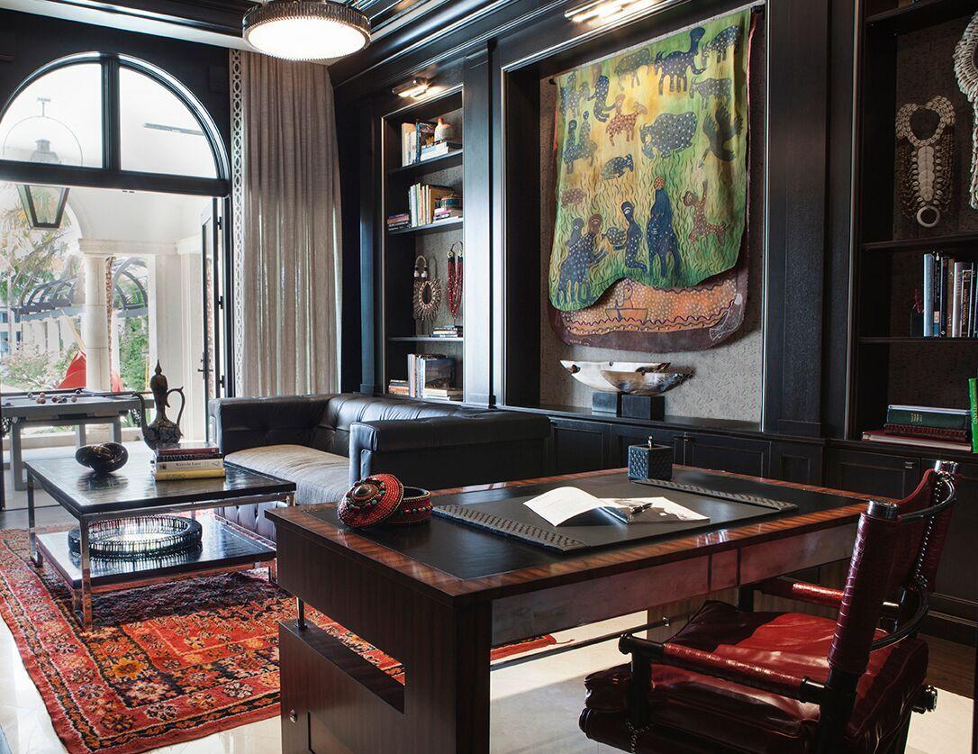 Top Miami Interior Designers - B Pila Design - Artistic Villa - Offices - office interior design - office design ideas - unique desks