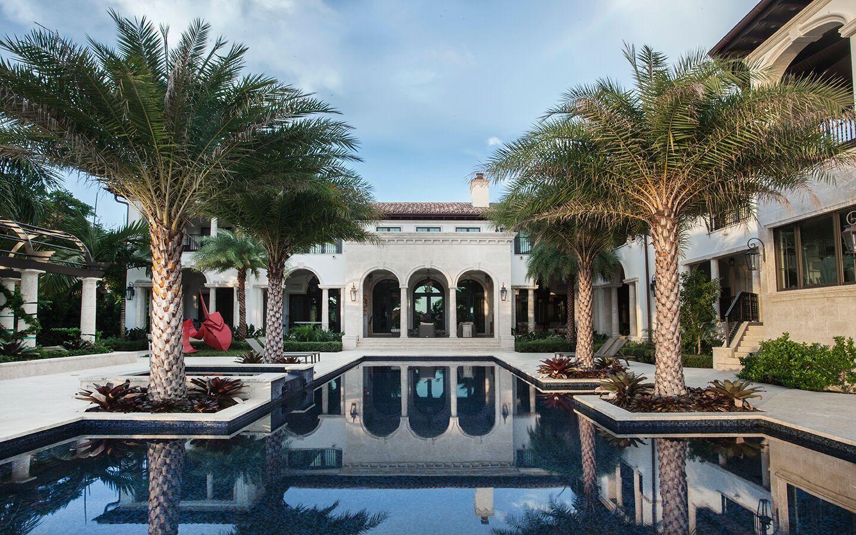 Top Miami Interior Designers - B Pila Design - Artistic Villa - bea pila - waterfront villas florida - luxury interiors - luxury pools - best interior designers in florida