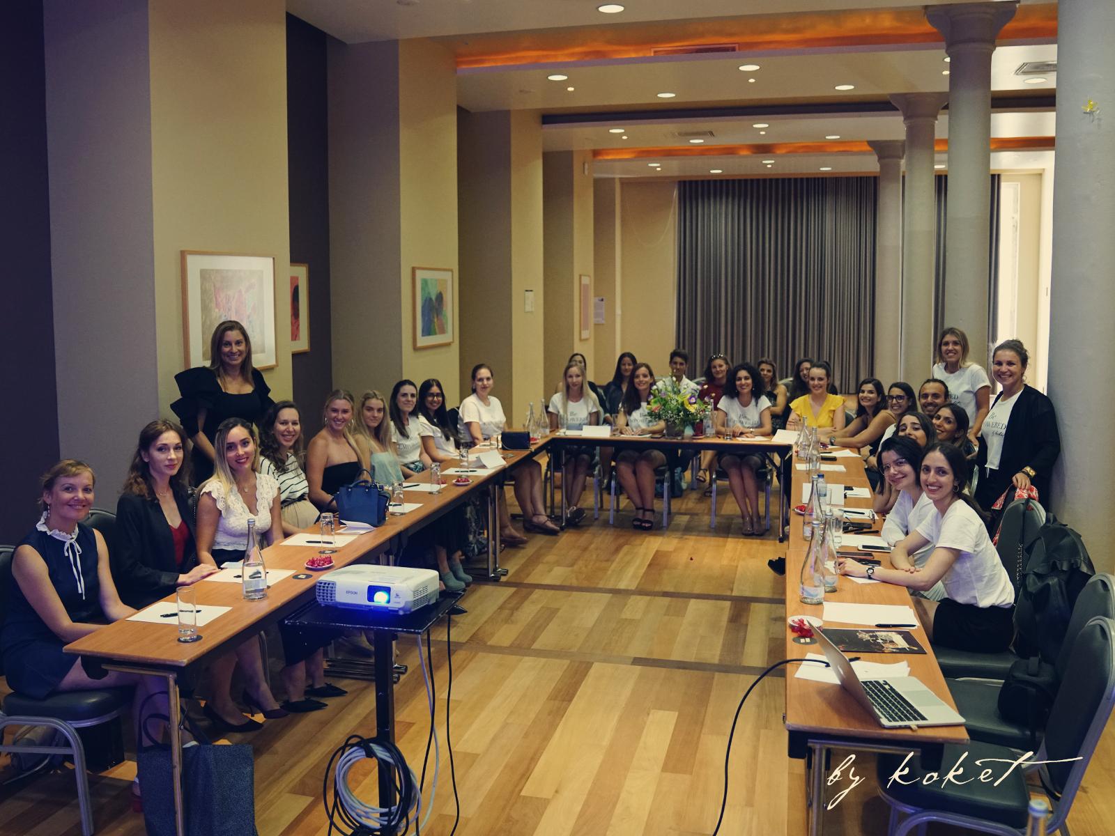 KOKET Furniture Annual Team Building Meeting - koket internship - koket careers - be empowered by koket - women empowerment