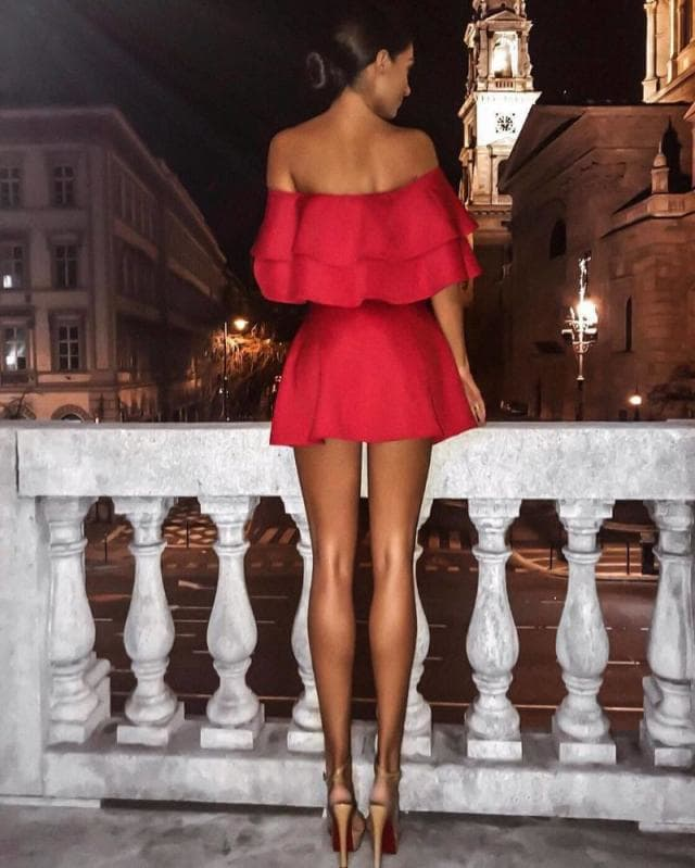 @vogue__worldwide - Little red dress - Comfy Tops to Red Dresses - how to Love Yourself no matter what you wear