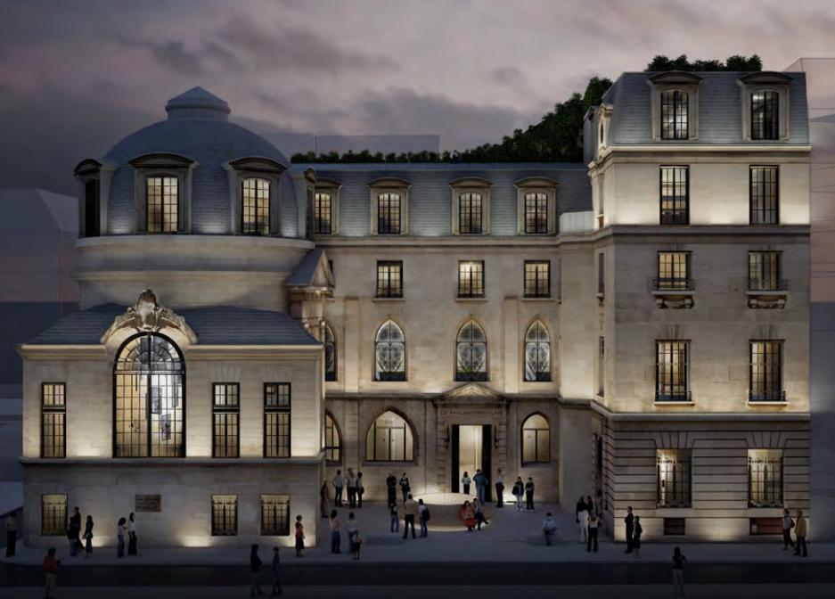 AD France AD Interieurs 2018 - Paris Design Week 2018 - architectural digest france - compagnie de phalsbourg - hotel de la bucherie
