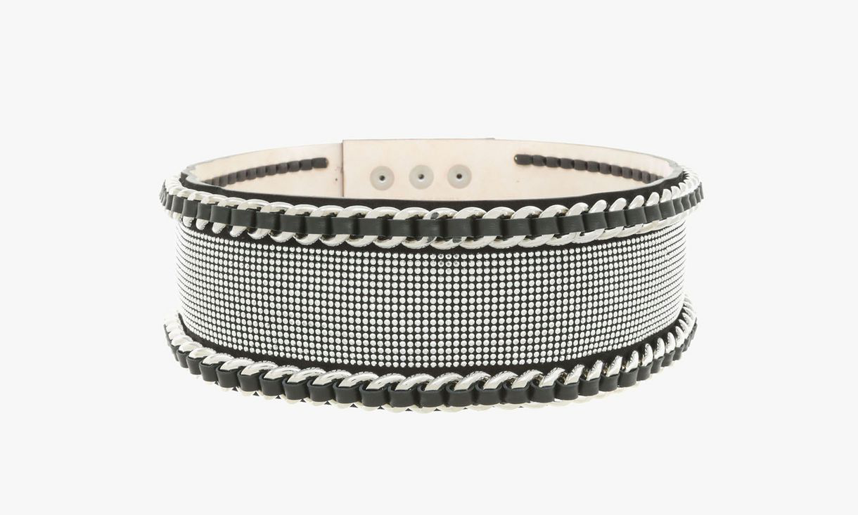 must have accessories - Balmain Leather Chain Belt - must have belts - styling tips - fashion tips - balmain belts - designer belts - black and white designer belts