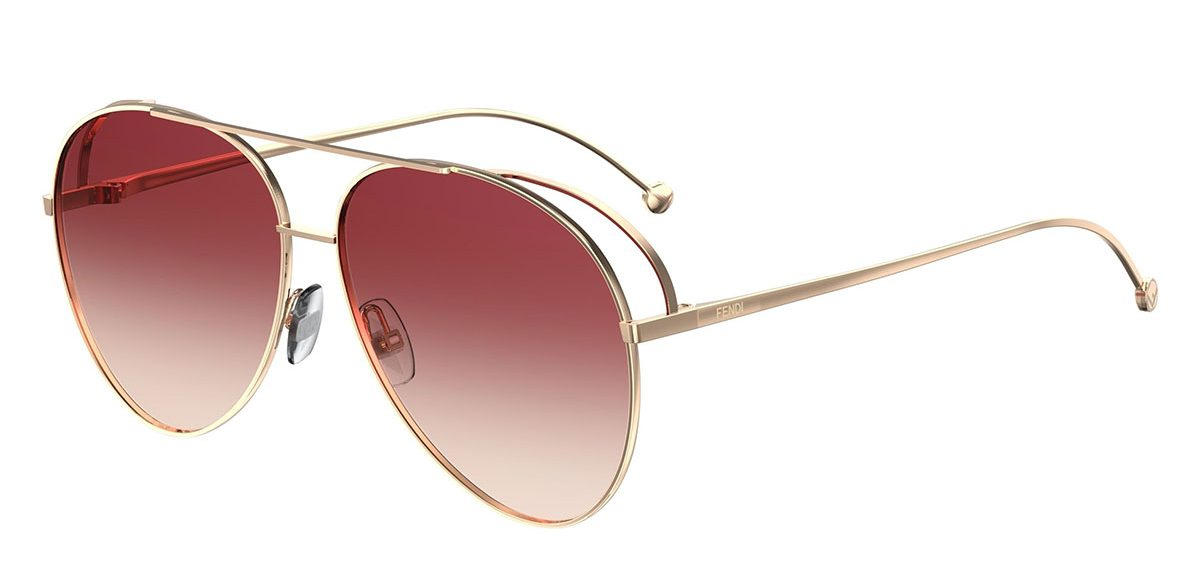 Must Have Accessories - Fendi Gradient Aviator Sunglasses - luxury sunglasses - designer sunglasses - designer aviators - fendi aviators - essential accessories - fashion tips - styling tips