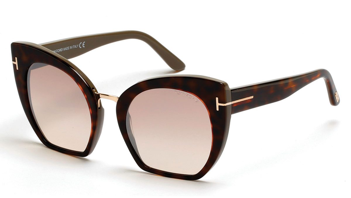 Must Have Accessories - Tom Ford Samantha Cropped Cat Eye Sunglasses Brown Havana - iconic sunglasses - fashion tips - styling tips - luxury sunglasses - tom ford sunglasses - designer sunglasses