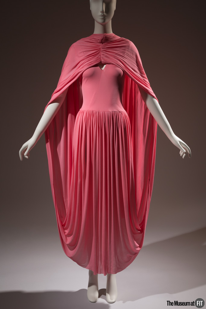 Pink Design - Céline Dress - Spring 2017, France, gift of Céline - Museum at FIT - pink fashion - pink dresses - fashion exhibits - things to do in nyc - pink in nyc