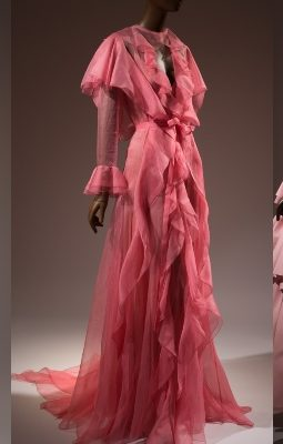 Pink Design - Pink - The History of a Punk, Pretty, Powerful Color - Museum at FIT - pink fashion - pink dresses - history of pink - pink color - pink designer dresses - fashion exhibits nyc - things to do in nyc fall 2018 - 2018 museum exhibits nyc