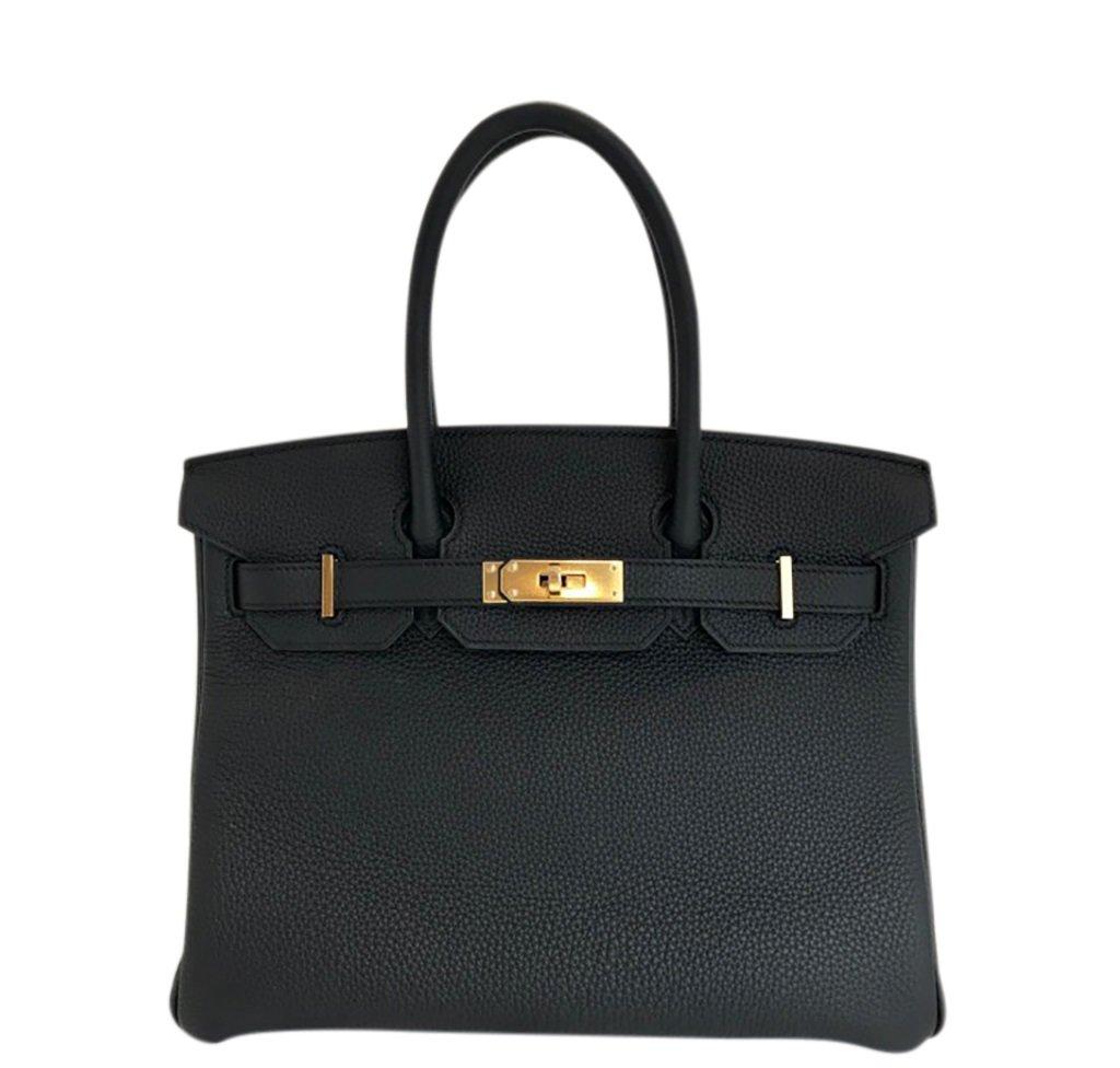 Must Have Accessories - Hermès Birkin 30 Bag Noir Black Togo GHW - baghunter - must have purses - luxury purses - luxury handbags - designer purses - designer handbags - hermes bags - vintage hermes bags
