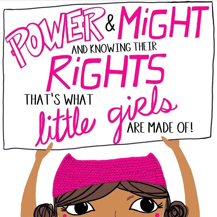 Power & Might and Knowing Their Rights That's What Little Girls are Made of! International Day of the Girl Child: Celebrating Girl Power & The Launch of the Obama Foundation's Global Girls Alliance