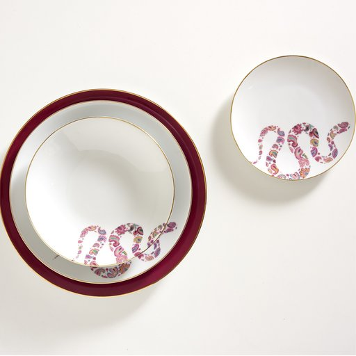 Artemest - Dalwin Designs Indian Snake Dishes - snake plates - luxury dinnerware