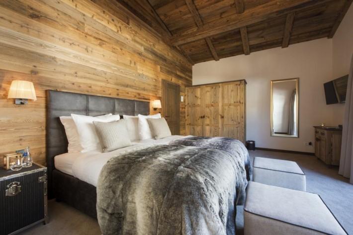 Bedroom of Ski Chalet Eden Rock