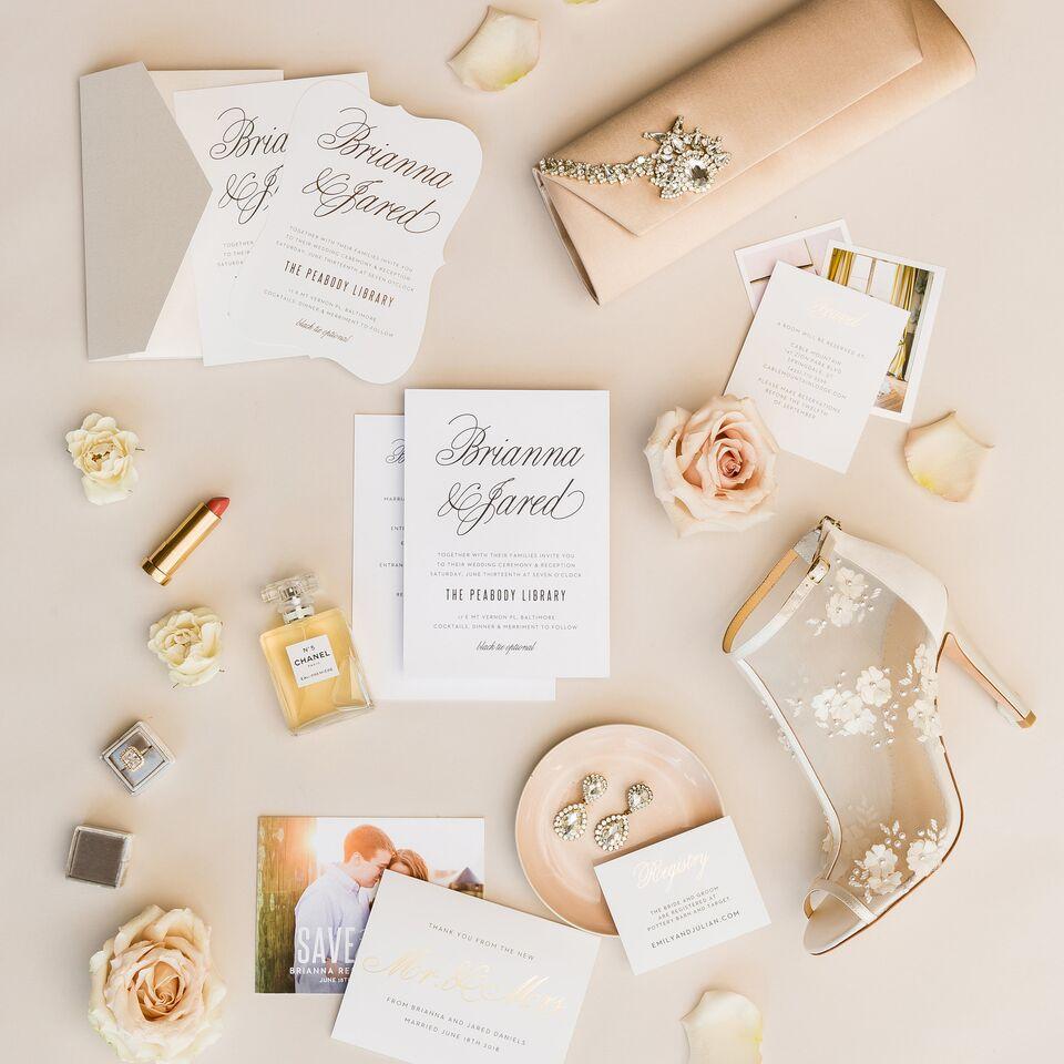 custom wedding invitations women's wedding accessories - luxury wedding invitations