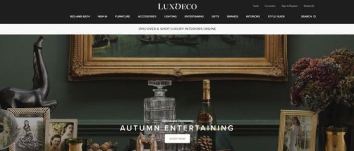 interior design resources - luxdeco site