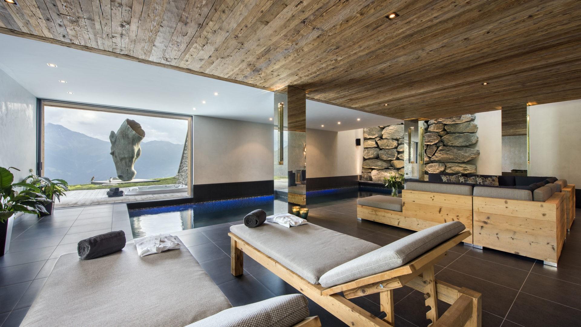 Norman Verbier Luxury Ski Chalets Indoor Pool