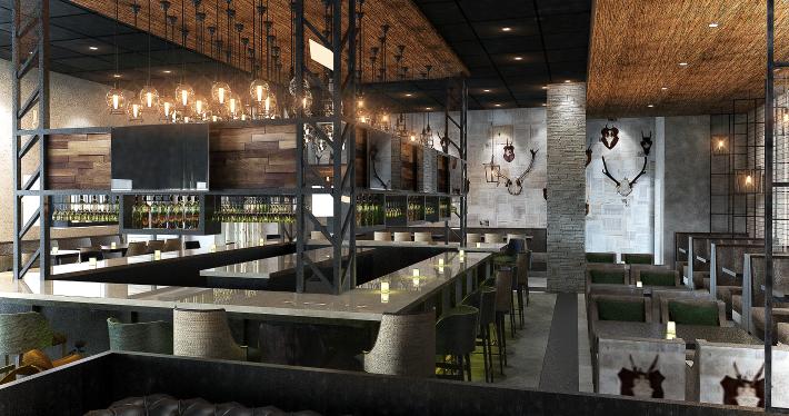 Restaurant Contour Interior Design