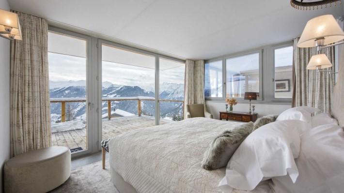 Bedroom Ski Chalet Seecha, Verbier