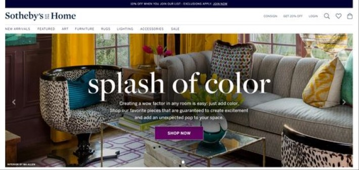 interior design resources sotheby's home