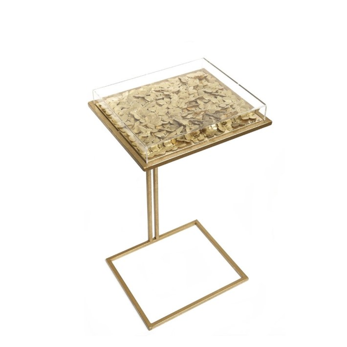 gilded butterfly cocktail table by tommy mitchell luxury brands