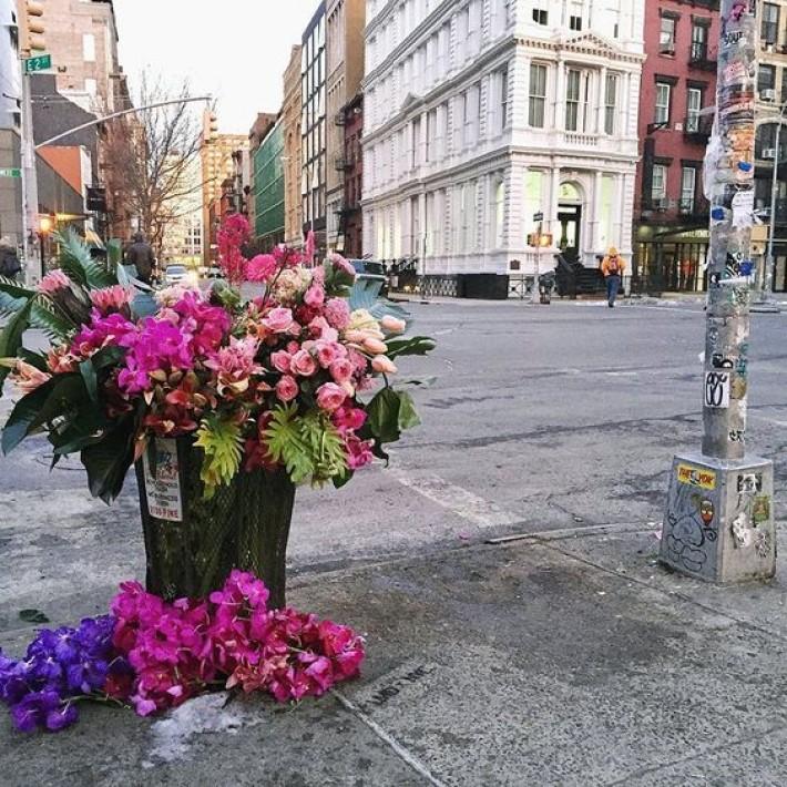 Trash Flowers by Lewis Miller Design